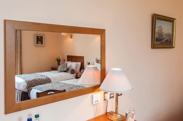 hotel rooms at Blarney Castle Hotel